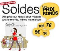 soldes la redoute les prix ronds sur les v tements. Black Bedroom Furniture Sets. Home Design Ideas