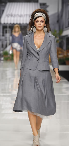 Bouton De Taille Grande Tailleur Femme 1 Veste Satin veste Hf1g4wn