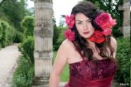 johanna dray pour Lambert creations La mannequin grande taille Johanna Dray est une femme dexception