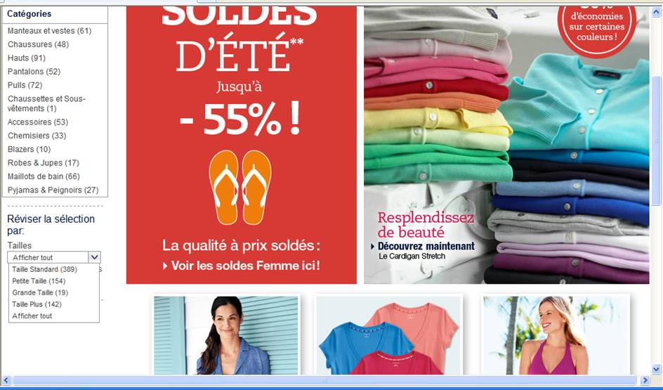 Soldes Lands'End