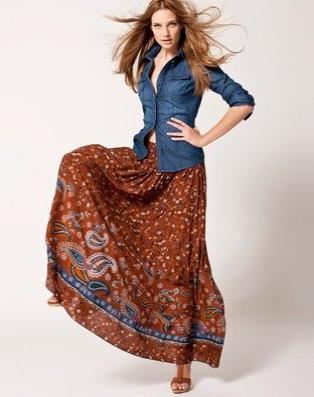 Hippie chic la tendance de cet automne - Mode hippie femme annee 70 ...