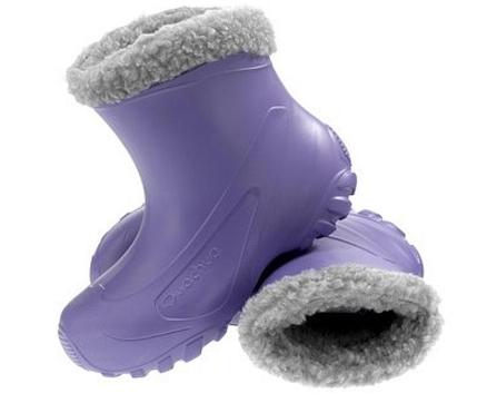 Vetement grande taille ski pulls bottes fourr es apr s - Decathlon bottes de pluie ...