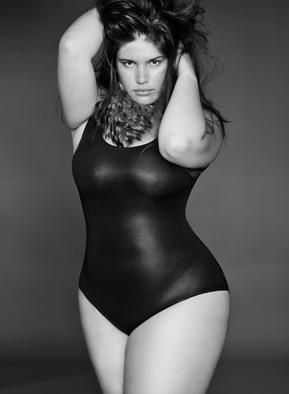 Mannequin femme avec des formes