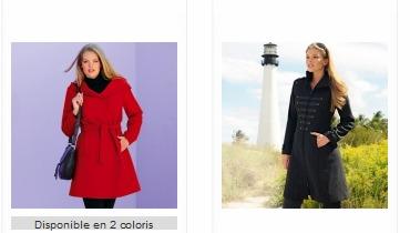 Nouvelle collection blanche porte notre s lection de manteaux femme hiver 2012 - La blanche porte nouvelle collection ...