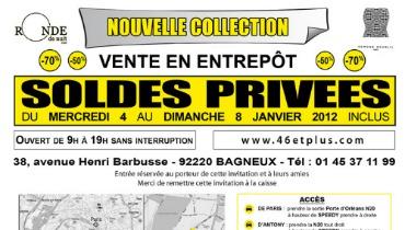 46etPlus, Ronde de Nuit, Edmond Boublil et Umberto Monza en Vente Entrepôt et ...