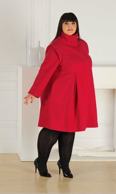 Manteau grande taille femme redoute