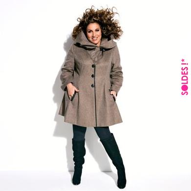 Soldes hiver 2012 collections big beauty et marianne james aux soldes la re - Redoute grande taille ...