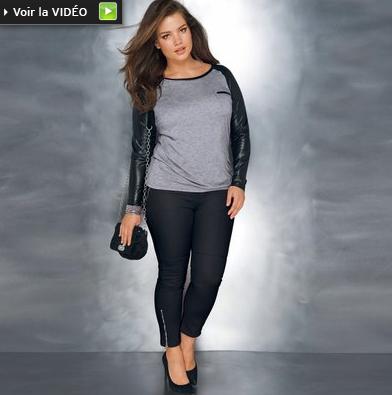 Soldes 2012 3 coups de coeur en mode femme grande taille - Redoute grande taille ...