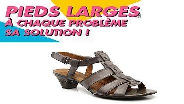 Réduction meilleur site couleur rapide Chaussures pieds larges : ouverture du rayon Sarenza ...