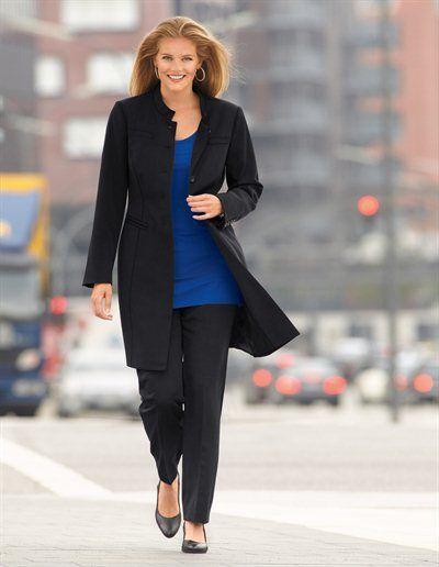 emilia lay vetements pour le bureau adoptez le tailleur pantalon grande taille. Black Bedroom Furniture Sets. Home Design Ideas