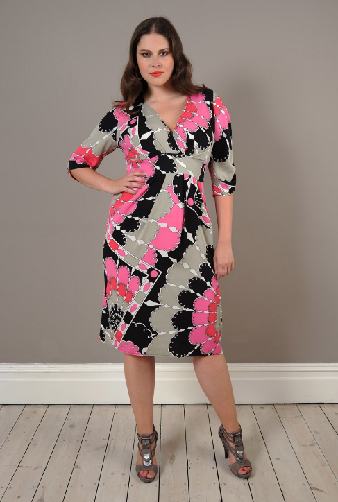 Robes feminines robe de ceremonie mariage grande taille for Robe violette taille plus pour mariage