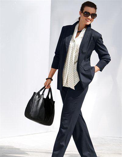 Préférence Emilia Lay vetements pour le bureau : adoptez le Tailleur-Pantalon  YJ61