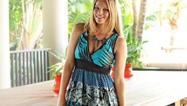 les ventes chaudes 665c1 ef254 Blanche Porte Extrabelle : Spécial robe grande Taille