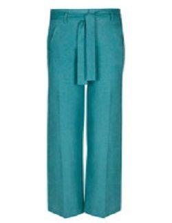 d couvrez la pi ce indispensable de l 39 t 2012 le pantalon lin femme. Black Bedroom Furniture Sets. Home Design Ideas