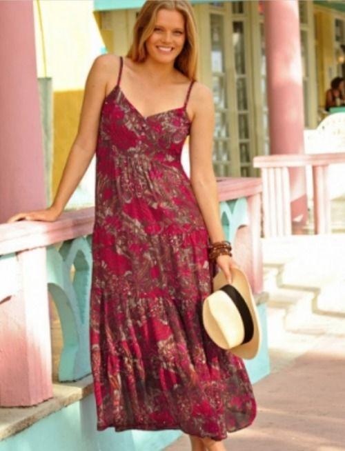 de11c0b2d79 robe longue blancheporte Repérages soldes Blancheporte été 2012   notre  sélection des plus beaux vêtements grande