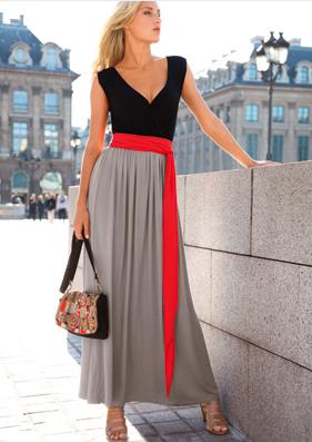 Belle robe longue d'ete
