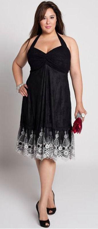 pour choisir une robe robe de soiree noire grande taille. Black Bedroom Furniture Sets. Home Design Ideas