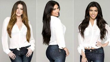 kardashian kurves la nouvelle ligne de jeans pour femme. Black Bedroom Furniture Sets. Home Design Ideas