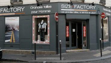 afc218e6a0c3a1 Size Factory Paris 17 : le nouveau magasin grande taille homme de la ...