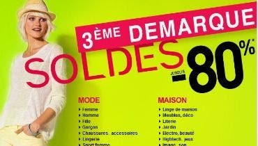 3 me d marque soldes jusqu 39 80 sur la. Black Bedroom Furniture Sets. Home Design Ideas