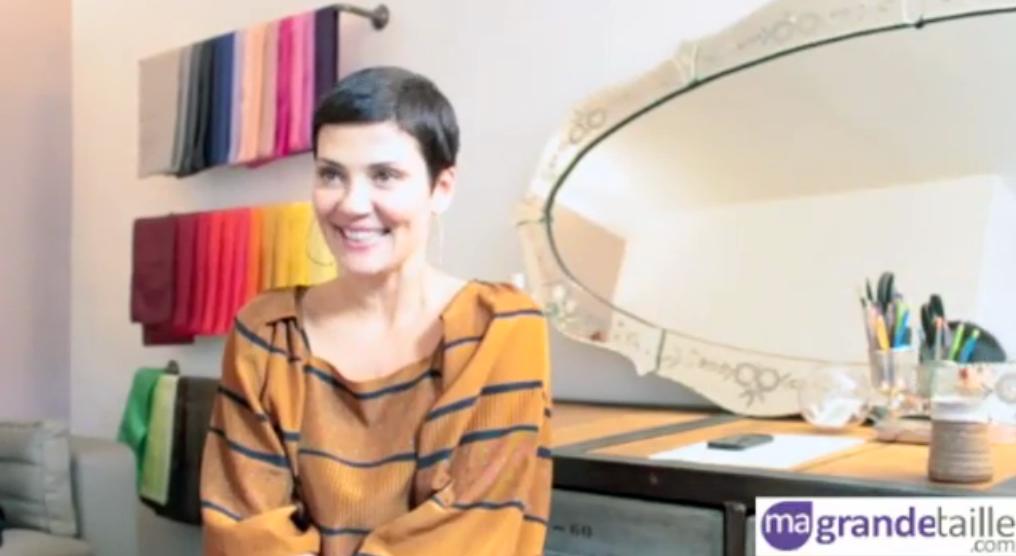 cristina cordula conseils pour les femmes rondes. Black Bedroom Furniture Sets. Home Design Ideas