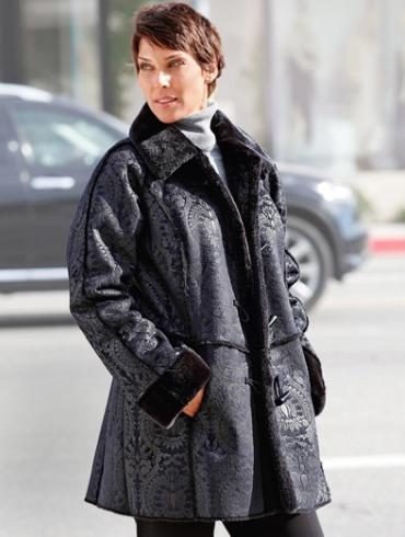 manteau grande taille femme en promotion chez daxon. Black Bedroom Furniture Sets. Home Design Ideas