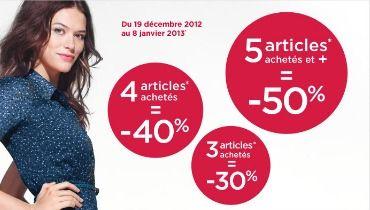 5025feb5a7e Pré soldes vêtement femme hiver 2013   La Halle vous offre jusqu à 50% de  remise