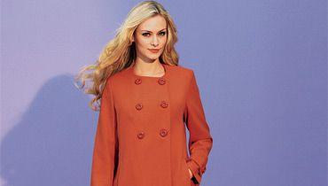 manteaux longs pour femme grande taille avec des couleurs. Black Bedroom Furniture Sets. Home Design Ideas