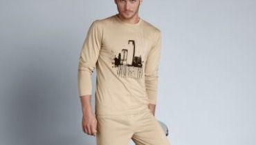 offrez un pyjama homme grande taille amusant pour no l. Black Bedroom Furniture Sets. Home Design Ideas