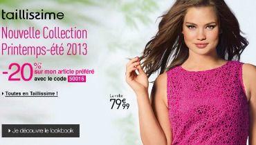 Collection la redoute taillissime 2013 la nouvelle collection vous fait voir la vie en rose - Redoute nouvelle collection ...