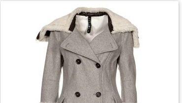 manteau femme taille 48 notre s lection aux soldes d. Black Bedroom Furniture Sets. Home Design Ideas