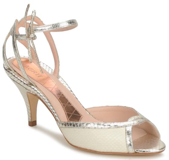 Chaussures mariage femme de luxe ou de cr ateurs pour for Femmes chaussures de mariage noir mariage
