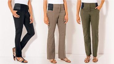 Nouvelles Arrivées 6d072 35748 Pantalon grande taille élastique disponibles chez Castaluna.fr