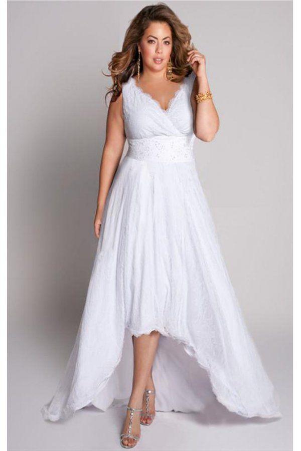 Robe mariee grande taille courte