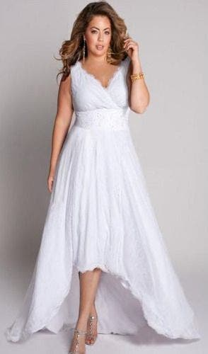 Robe mariage grande taille s lection de robe grande for Taille 20 robes pour les mariages
