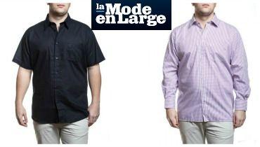 e8e9b31c4614f Chemise homme grande taille et chemisette chic et tendance pour ...