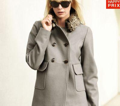 pour contrer une mi saison frileuse optez pour le manteau femme grande taille. Black Bedroom Furniture Sets. Home Design Ideas