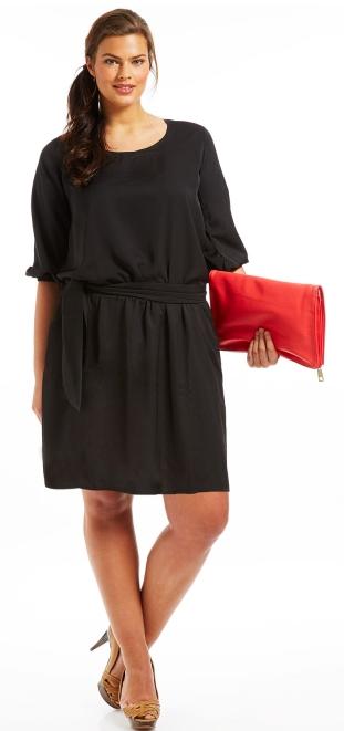 Robe noire classique grande taille robe fashion france for Taille baignoire classique