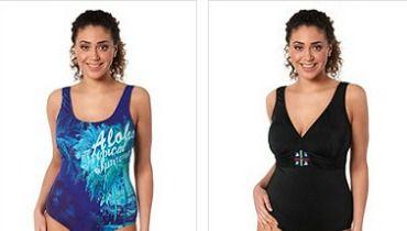 Nouvelle collection Ulla Popken été 2013   les 3 maillots de bain ... 7bfac7c9d6a