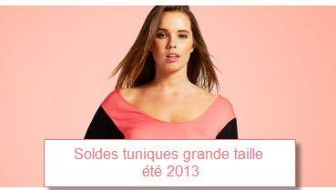 922d7c7dd464 Légèreté et féminité pour cet été grâce aux Soldes tunique grande taille été  2013
