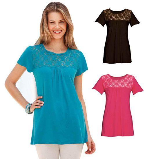 3376271da0b4 Top et tunique femme grande taille à shopper au plus vite aux Soldes ...