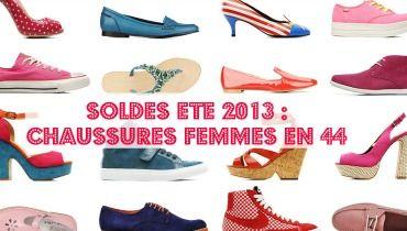 Sélection de chaussures femme grande taille aux soldes