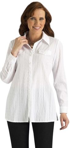 Chemise blanche originale pour femme ronde 24279f3c5f2c