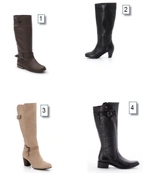 Très Où trouver des bottes pour mollets larges tendance ? WJ04