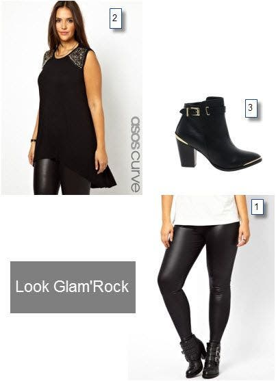 legging grande taille tunique et bottes une tenue fashion. Black Bedroom Furniture Sets. Home Design Ideas