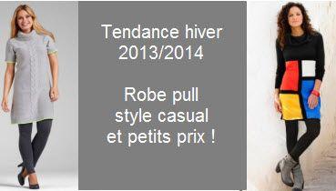 Robe pull grande taille la tendance casual de la saison - Taille citronnier 4 saisons ...