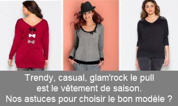 Pull grande taille femme 77be4b53e0eb