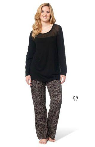 pyjama grande taille l 39 ami qui vous veut du bien. Black Bedroom Furniture Sets. Home Design Ideas
