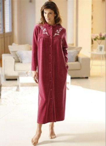 Les robes de chambre chaudes en grande taille loin d 39 tre - Robes de chambre de marque ...