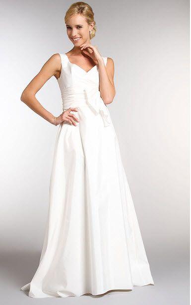 Robe de mariée grande taille en taffetas ivoire modèle Bacaron ...